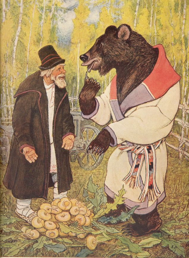 «The Peasant and the Bear»